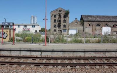 La rénovation du site de la gare et de l'ancienne sucrerie à Chastre