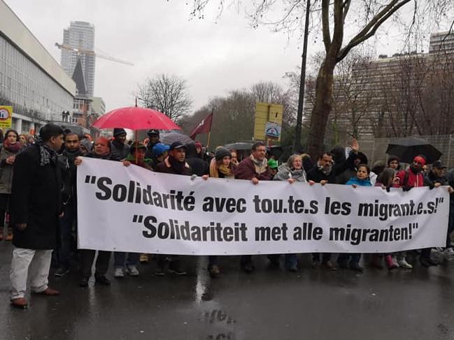 Manifestation Justice migratoire