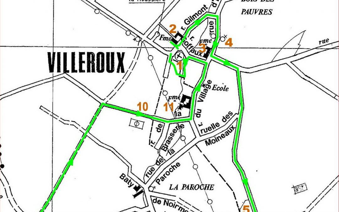 Promenades à la découverte de Chastre – 4° édition – ce dimanche 26 juillet 2020 : Villeroux