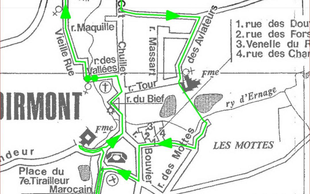 Promenades à la découverte de Chastre – 2° édition – çà continue ce dimanche 12 juillet 2020 : Noirmont