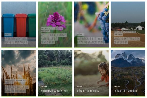 VertPop 2020 (ecolo.be & Etopia)- les rencontres d'été réparties sur le territoire: Bienvenue à GENTINNES (Chastre)