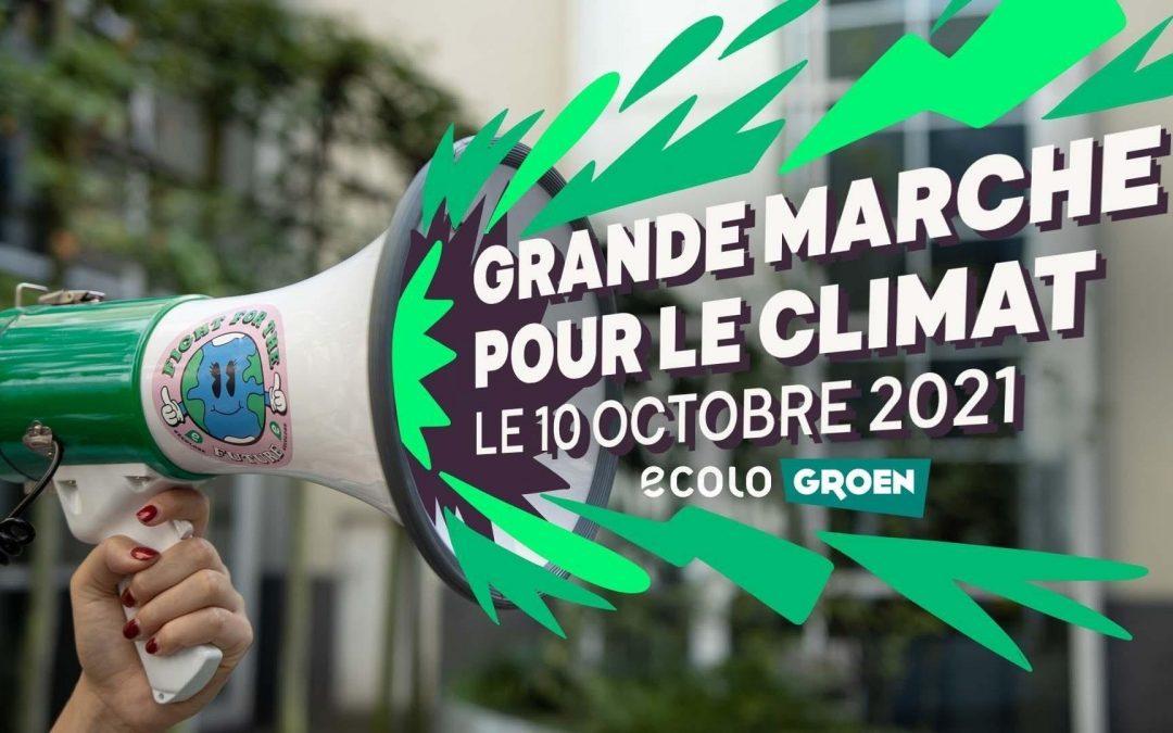 Ce Dimanche 10 octobre 2021 – Marche pour le CLIMAT – Coalition Climat